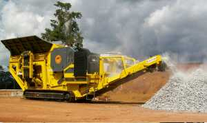 Piccini Aggregate Crushing Plant